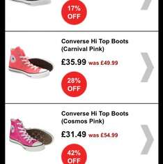 Converse Up To 30 % off Blue Banana