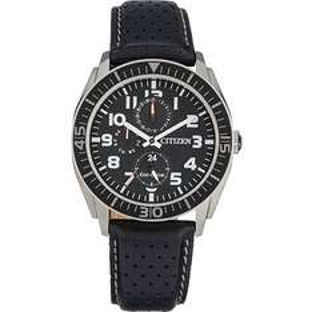 Citizen Men's Black Strap Multi Dial Eco-Drive Watch 5yr Warranty potentially £45.33 after cashback @ Argos