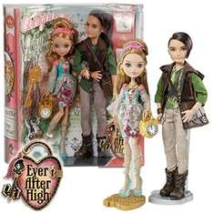 Ever After High Twin Pack (Royal and Rebel) Ashlynn and Hunter £15.99 @ Home Bargains