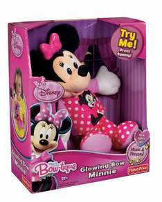 Fisher-Price Minnie Mouse Glowing Bow Minnie £13.49 Free Delivery @ Amazon