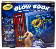 Crayola Colour Explosion Glow Book Now £10.41 + Free Delivery @ Amazon