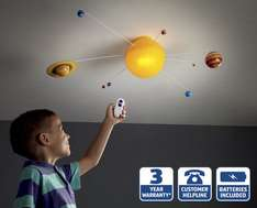 Solar System Light ALDI £19.99
