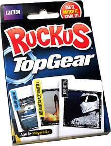 TOP GEAR RUCKUS FAMILY CARD GAME £1.00 INSTORE @ POUNDWORLD