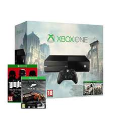 XBOX One with Assassin's Creed Unity + Black Flag + Wolfenstein + Forza 5 GOTY Download WOW5 - FREE SHIPPING via ShopTo on eBay - Just Noticed LAST ONE LEFT