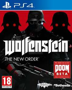 Wolfenstein (The New Order) on PS4 - £19.85 with FREE SHIPPING @ ShopTo via eBay - Plus FREE Click & Collect from Most Argos Stores.