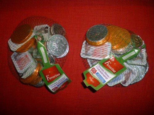 Net of chocolate money (coins / notes) ... 150g BOGOF @ Lidl! (50p per 150g net)