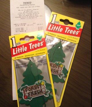 Forest Fresh Little Trees Car Air Freshener 44p @ Tesco
