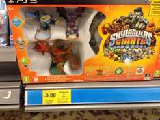Skylanders Giants PS3 starter pack £8 @ Tesco