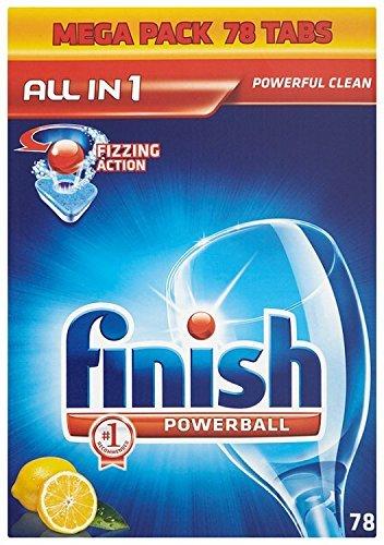 Finish All In One Lemon Sparkle 78 Dishwasher Tablets £9.75 amazon uk