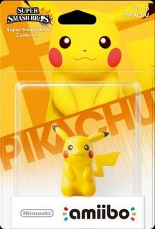 Pikachu Amiibo back in stock at Tesco Direct £10