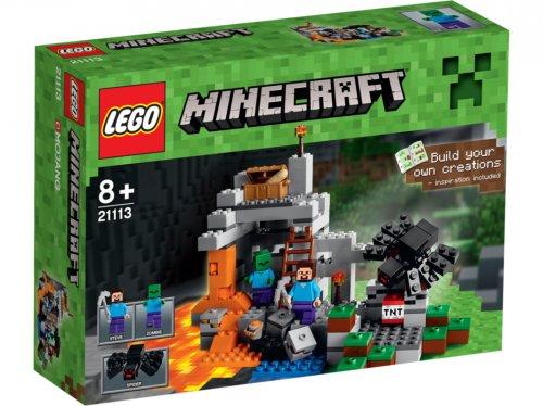 Lego minecraft the cave 21113 £19.99 free c&c @ Asda Direct