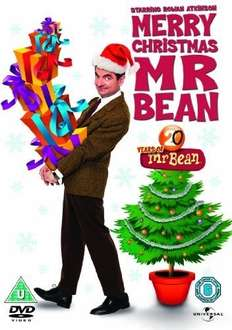 Merry Christmas Mr.Bean DVD £3 Delivered or Instore @ Tesco