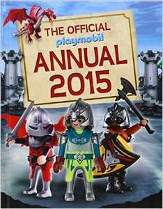 The Official PLAYMOBIL Annual 2015 found @ Poundland Merry Hill