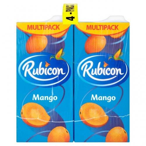Rubicon Mango Juice Drink 4 x 1L Morrisons £3.50