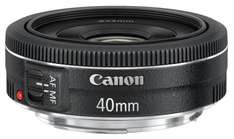Canon EF 40mm f/2.8 STM Lens £109.99 - possible £84.99 with cashback @ argos - ebay store