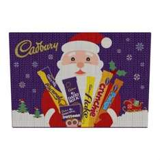 Cadbury Medium Selection Pack 92g 4 for £3 at Poundland - 75p a pack!