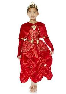 Belle dress up costume (red) now £10 at Tesco f&f online