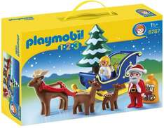 Playmobil Santa with Reindeer 9.99 @ amazon (free delivery on order over £10)
