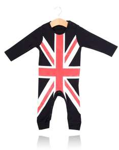 My Tuxedo Union Jack Baby Grow on sale for £1.99 - was £19.99