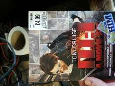 Mission Impossible 4 Film Boxset £4.99 down from £14.99 @ HMV