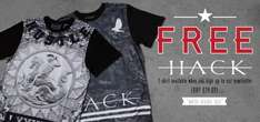 FREE Hack Mens T-Shirt (Worth £24.99) - Just Sign Up For e-Newsletter @ Flash Price - 1000 T-Shirts Available