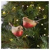 Robins Tree Decoration, 2 Pack  £1.50 @ Tesco Instore