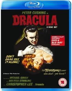 Dracula (1958) 3 disc blu ray + dvd £7 @ Amazon