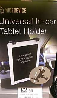 Nice Device Universal In-car Tablet Holder £2.99 In store @ Home Bargains