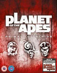 Planet Of The Apes - Primal Collection (Eight Films Box Set) Blu-Ray £23.99/DVD £15.99 @ Amazon