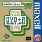 Maxell DVD+R 8.5GB Dual Layer 5 Pack £4.99 @ Play