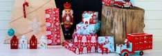 Up to 75% off Christmas decorations at House of Fraser (Includes Reindeer decorations, reed diffusers etc...)