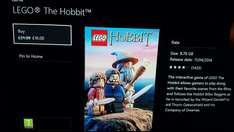 Lego Hobbit Xbox One £16 @  Marketplace