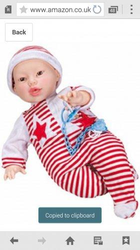 breastfeeding boy doll  £25.15 @ Amazon