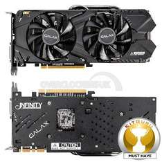 "GALAX GeForce GTX 970 OC Silent ""Infinity Black Edition"" £291.59 inc delivery (or £281.99 for forum users) @ OCK"