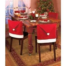 Santa Chair Covers £1.00 in Poundland