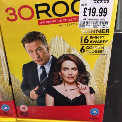 30 Rock Complete Season 1-7  Boxset £19.99 @ HMV in store