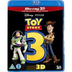 Toy Story 3 (Blu-ray 3D + Blu-ray) £8.99 @ Amazon   (free delivery £10 spend/prime)