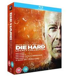 Die Hard Legacy - Blu-Ray Boxset, all five Die Hard movies for £15 (Play/Foxdirect)