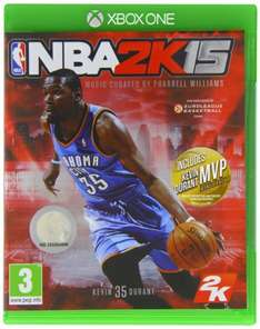 NBA 2K15 Xbox One/ PS4 sold by Amazon  £29.86