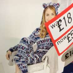 Christmas Onesies reduced to £5.40 Sainsburys instore