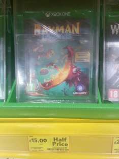 Rayman Legends XBox ONE £15 @ Tesco Instore
