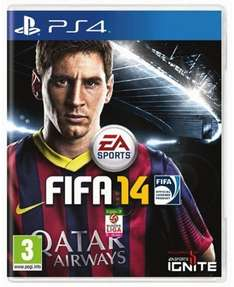 Fifa 14 For PS4 @ CeX Only £4 Each!