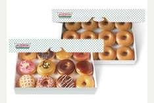 Krispy Kreme Double dozen £14 @ Tesco