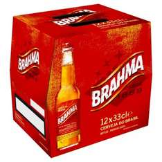 Brahma Lager 12 x 330ml Bottles Now Only £6.99 @ Home Bargains Instore