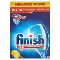 Finish Powerball Dishwasher Tablets 78 size £10 using mywaitrose card