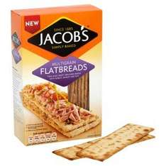 Christmas cracker! Jacobs flatbreads £1 @ Waitrose