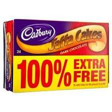 Cadburys Jaffa Cakes 75p In Farmfoods