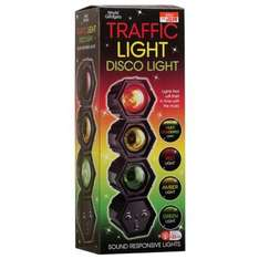 Traffic Light Disco Light Moves To The Beat Now Only £12.99 Was £25 @ B&M Bargains Instore