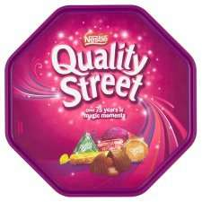Quality Street Tub 780G - 3 for £10 with code GRMKAT + other tubs (Read description for more details) @ Tesco     (P.S The quality street tub without code is currently £4 each)