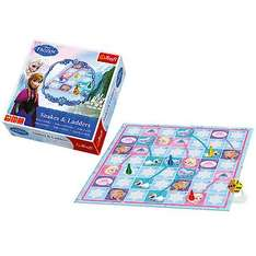 Disney Frozen Snakes and Ladders Board Game for £5.00 (was £10.00) at The Entertainer